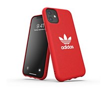 Coque Adidas Originals  iPhone 11 Adicolor rouge
