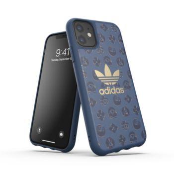 Adidas Originals iPhone 11 Shibori bleu marine