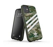 Coque Adidas Originals  iPhone 11 Samba camouflage vert