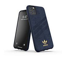 Coque Adidas Originals  iPhone 11 Pro Max Gazelle premium bleu