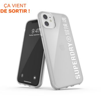 Superdry iPhone 11 transparent