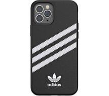 Coque Adidas Originals  iPhone 12/12 Pro Samba noir/blanc