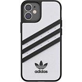 Coque Adidas Originals iPhone 12 mini Samba blanc/noir