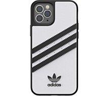 Coque Adidas Originals  iPhone 12/12 Pro Samba blanc/noir