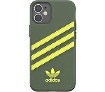 Coque Adidas Originals  iPhone 12 mini Samba vert/jaune