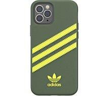 Coque Adidas Originals  iPhone 12/12 Pro Samba vert/jaune