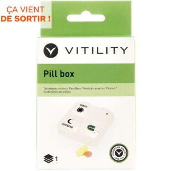 Vitility Pilulier 1 jour
