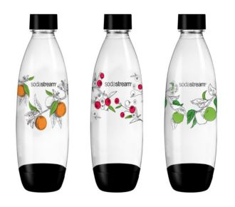 Sodastream Pack 3 bouteilles collection Hipster 1L