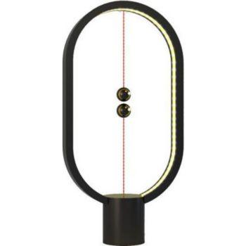 Allocacoc Lampe LED Heng en plastique noir avec in