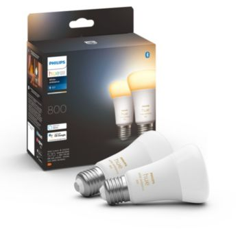 Philips Hue Pack x 2 ampoules White Ambiance E