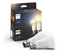 Ampoule connectée Philips  Pack x 2 ampoules White Ambiance B