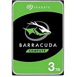 Disque dur interne Seagate  3To BarraCuda  3.5'' SATA 5400rpm 25
