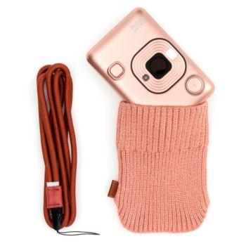 Fujifilm Mini Liplay Blush Gold + dragonne + Etui