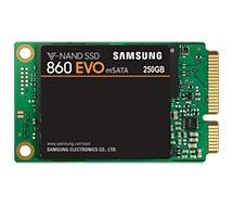 Disque SSD interne Samsung  SSD 250Go  860 EVO Msata MZ-M6E250BW