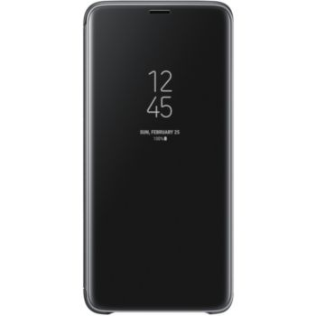 Samsung S9+ Clear View Cover Fonction Stand noir