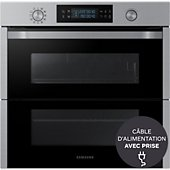 Four encastrable Samsung DUAL COOK FLEX NV75N5671BS
