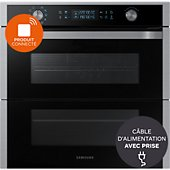 Four encastrable Samsung NV75N7677RS DUAL COOK FLEX