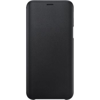 Samsung J6 Flip Wallet noir