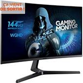 Ecran PC Gamer Samsung C32JG50QQUXEN Incurvé