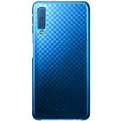 Coque Samsung A7 Evolution bleu