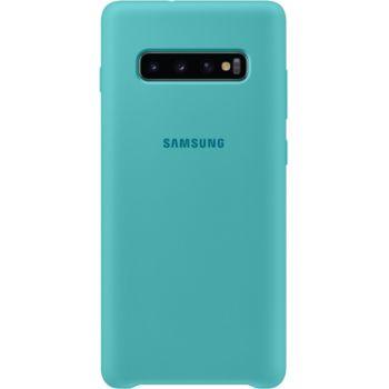 Samsung S10+ Silicone ultra fine vert