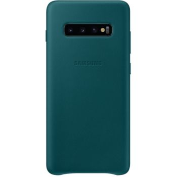 Samsung S10+ Cuir vert