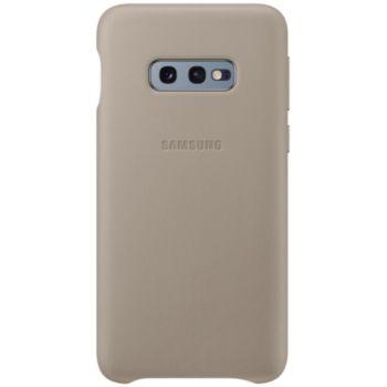Samsung S10e Cuir gris