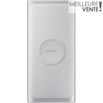 Samsung 10A charge rapide induction Argent