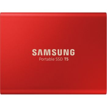 Samsung Portable SSD T5 1To Rouge