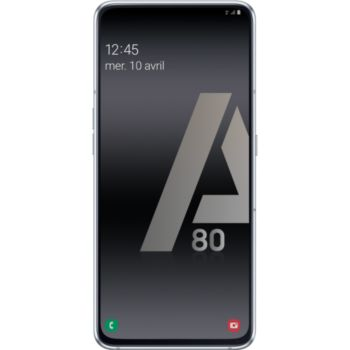 Samsung Galaxy A80 Argent 				 			 			 			 				reconditionné