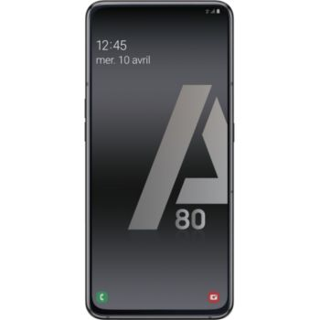 Samsung Galaxy A80 Noir 				 			 			 			 				reconditionné