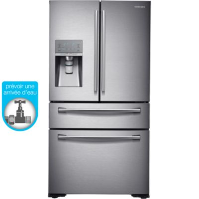 Samsung RFHSESBSR Réfrigérateur Américain Boulanger - Refrigerateur 3 portes