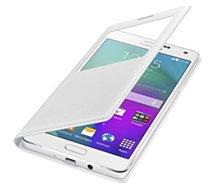 Etui Samsung SView Cover Galaxy A7 blanc