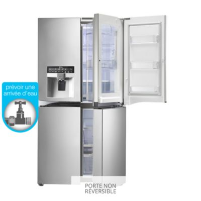 LG Door In Door GLSSC Réfrigérateur Américain Boulanger - Refrigerateur 3 portes