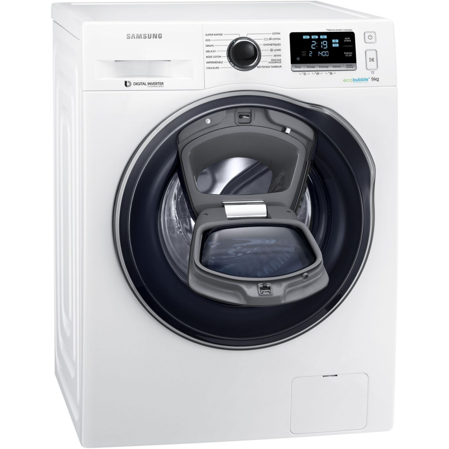 Location sur location lave linge frontal samsung add wash ww90k6414qw ef - Lave linge qui pue ...