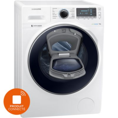 samsung lave linge connect add wash ww90k7415ow. Black Bedroom Furniture Sets. Home Design Ideas