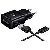 Chargeur secteur Samsung rapide 15W USB-C + cable Noir