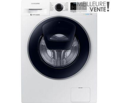 Lave linge hublot Samsung ADD WASH Eco Bubble WW8BK5210UW
