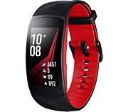 Samsung Gear Fit 2 Pro Noir/Rouge Taille L