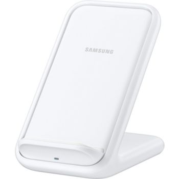 Samsung Induction Stand rapide 15W + USB C Blanc