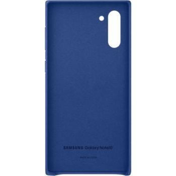 Samsung Note 10 Cuir bleu