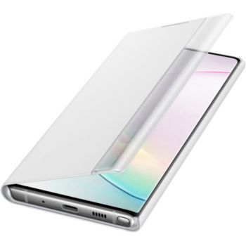 Samsung Note 10 Clear View Cover blanc