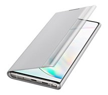 Etui Samsung  Note 10 Clear View Cover gris
