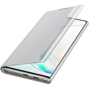 Samsung Note 10 Clear View Cover gris