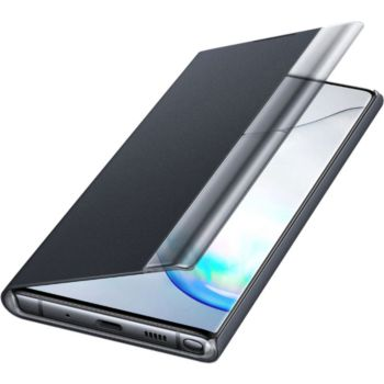 Samsung Note 10 Clear View Cover noir