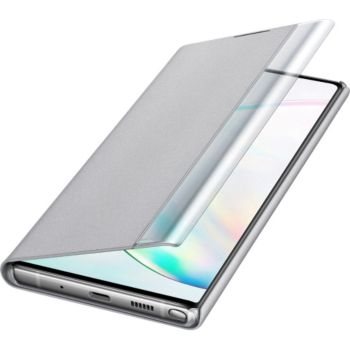 Samsung Note 10+ Clear View Cover gris