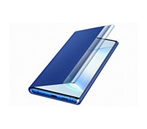 Etui Samsung  Note 10+ Clear View Cover bleu