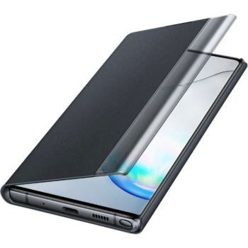 Samsung Note 10+ Clear View Cover noir