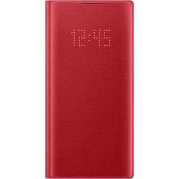 Samsung Note 10 LED View Cover rouge