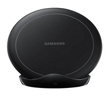 Chargeur induction Samsung  sans fil stand charge rapide Noir